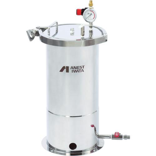 アネスト岩田 ステンレス製下出し加圧タンク 10L(COTZB10)