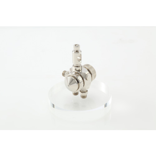 アネスト岩田 液体塗布用自動スプレーガン(小形 丸吹) ノズル口径1.0mm(TOF6RB10)