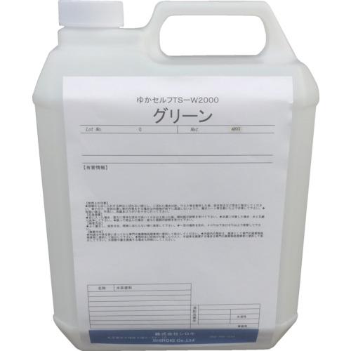 シロキ ゆかセルフ TS-W2000 グリーン 4.0Kg(7760311)