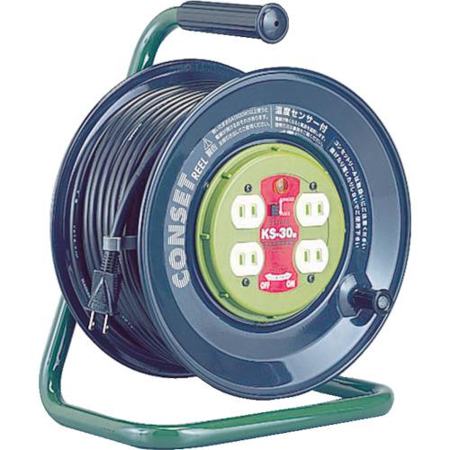 ハタヤ コンセント盤固定型コードリール コンセットリール 単相100V 30m(KS30)