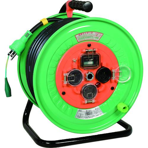 日動 電工ドラム 防雨防塵型100Vドラム アース漏電しゃ断器付 30m(NWEB33)