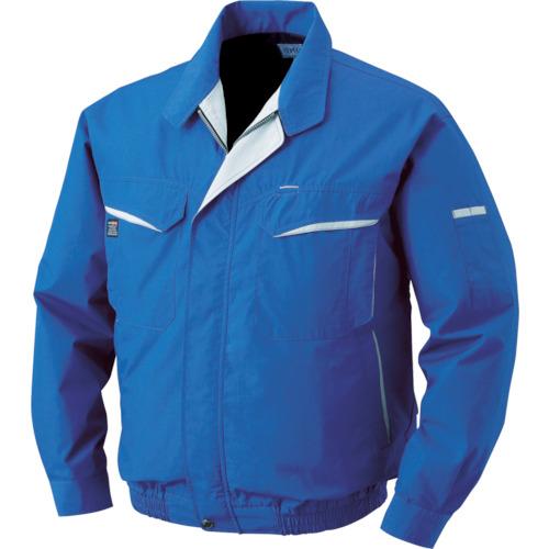空調服 混紡 バッテリーセット ブルー L(BK500NC04S3)