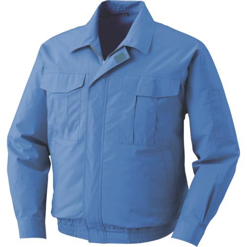 空調服 綿 電池ボックスセット ライトブルー L(M500UC24S3)