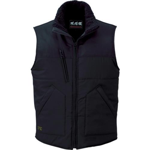 ジーベック 223 現場服 防寒ベスト 3L 黒(223903L)