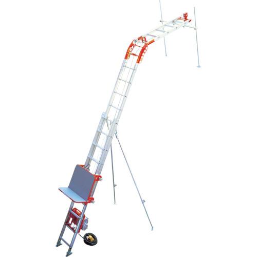 アルインコ 荷揚げ機「パワーコメット」3階用フルセット(UP103PZ3F)
