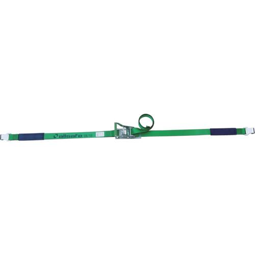 allsafe ベルト荷締機 ラチェット式フラットフック仕様(重荷重)(R5FH15)