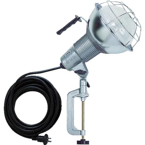 ハタヤ 防雨型水銀作業灯 バラストレス水銀ランプ300W 100V5m バイス付(RGM305)