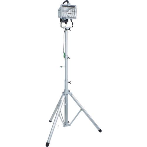 日動 ハロゲン投光器 ハロスター500 100V 500Wハロゲン 一灯三脚式(HS500L)