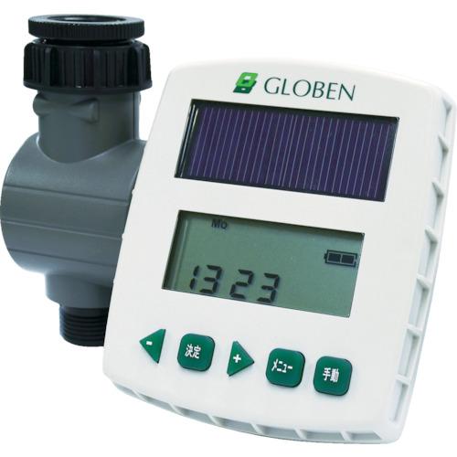 グローベン 自動散水システム太陽光発電式簡易コントローラーソラクア(C10SL001)