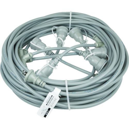HASEGAWA 分岐ケーブル ESTCシリーズ 25m 防水コネクター(ESTC25M225)