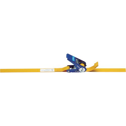キトー ベルトラッシング ラチェットバックル式シボリ縫製タイプ(BLR030ET010ET070)