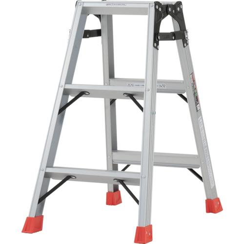 TRUSCO はしご兼用脚立 アルミ合金製脚カバー付 高さ0.81m(TPRK090)
