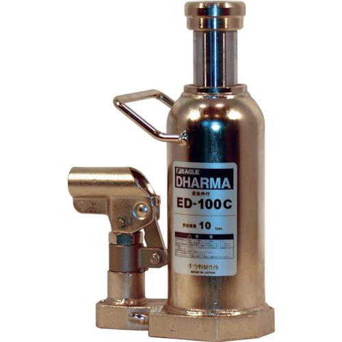 イーグル クリーンルームレバー回転油圧ジャッキ能力10t(ED100C)