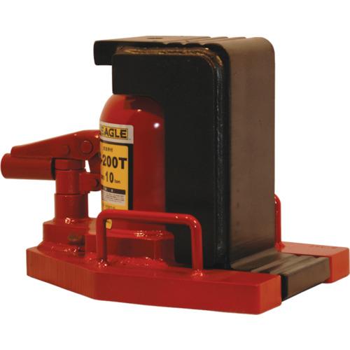 イーグル 低床・レバー回転・安全弁付爪つきジャッキ 爪能力10t(G200T)