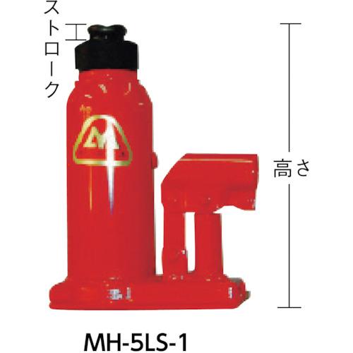 マサダ ロック式油圧ジャッキ 5TON(MH5LS1)