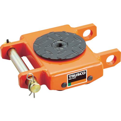 TRUSCO オレンジローラー ウレタン車輪付 低床型 1TON(TUW1T)