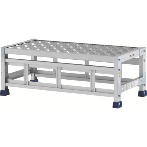 アルインコ 作業台(天板縞板タイプ)1段(CSBC138S)