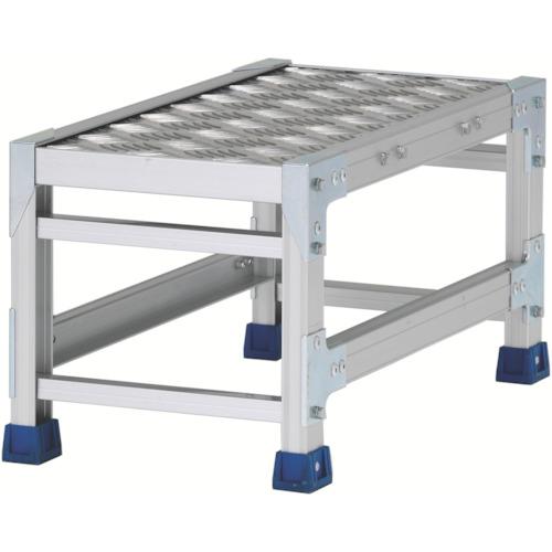 アルインコ 作業台(天板縞板タイプ)1段(CSBC133WS)