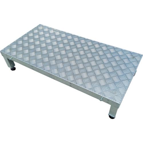 アルインコ 連結式アルミ作業用踏台1段 天板縞板タイプ 新商品 新型 LFS 交換無料 LFS0404S