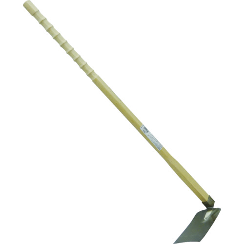 金象 ステン鋼付菜園鍬 手がすべりにくい柄付(79851)