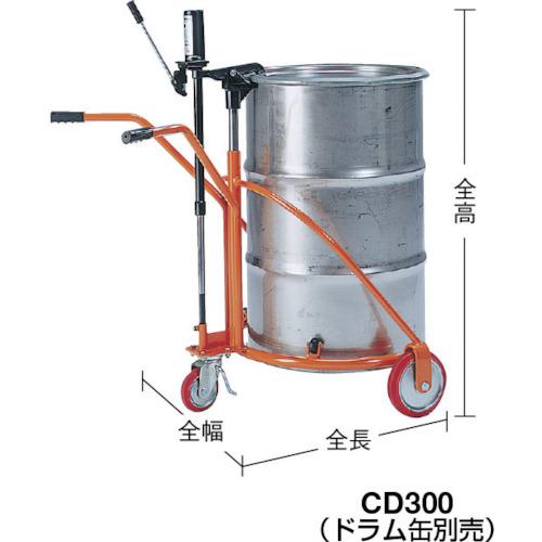 KSK 軽便ドラムカー 300kg(CD300)