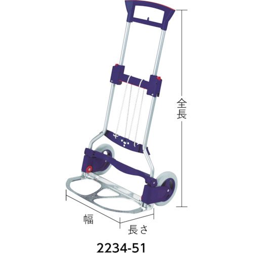 SECO 折畳カート 「RUXXAC」ビジネス 125kg(223451)