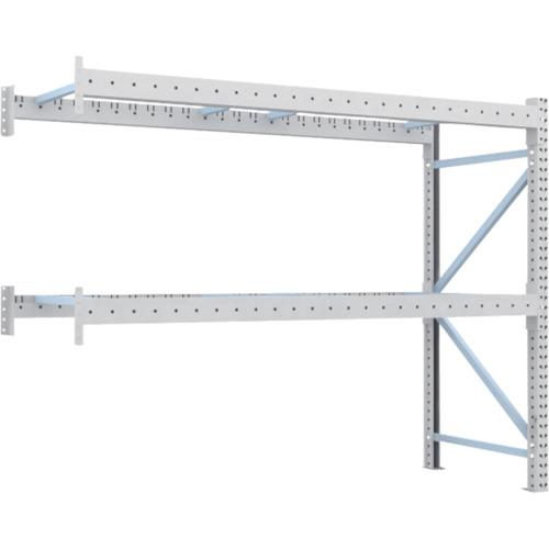TRUSCO 重量パレット棚1トン2300×900×H2000連結 2段(1D20B23092B)*代引き不可、個人宅配送不可