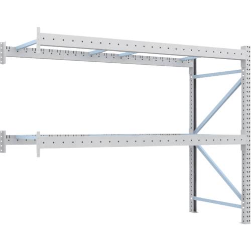 TRUSCO 重量パレット棚1トン2300×1000×H2000連結(1D20B23102B)