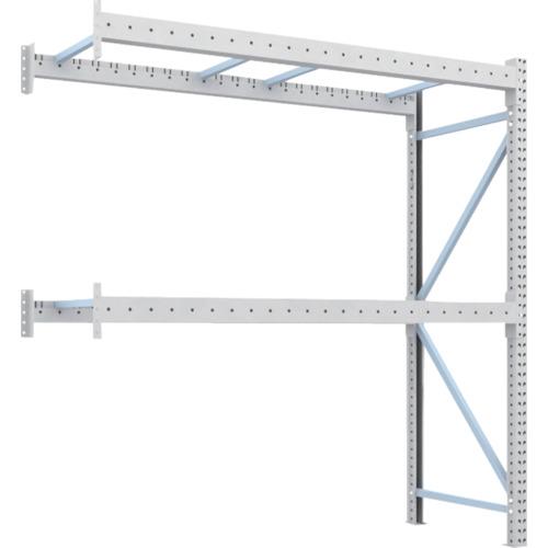 TRUSCO 重量パレット棚1トン2300×900×H2500連結 2段(1D25B23092B)