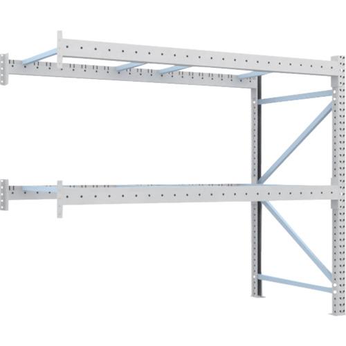 TRUSCO 重量パレット棚2トン2300×1100×H2000連結(2D20B23112B)*代引き不可、個人宅配送不可