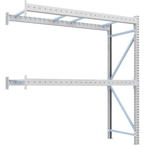 TRUSCO 重量パレット棚2トン2300×900×H2500連結 2段(2D25B23092B)*代引き不可、個人宅配送不可