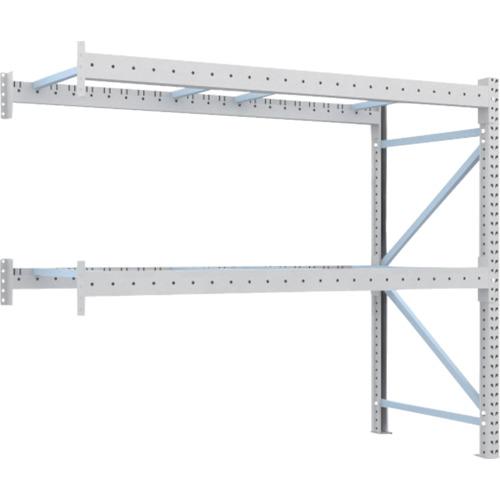 TRUSCO 重量パレット棚2トン2300×1000×H2000連結(2D20B23102B)*代引き不可、個人宅配送不可