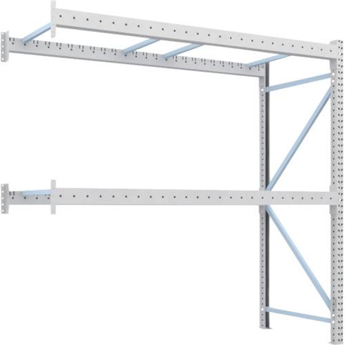 TRUSCO 重量パレット棚2トン2500×1000×H2500連結(2D25B25102B)