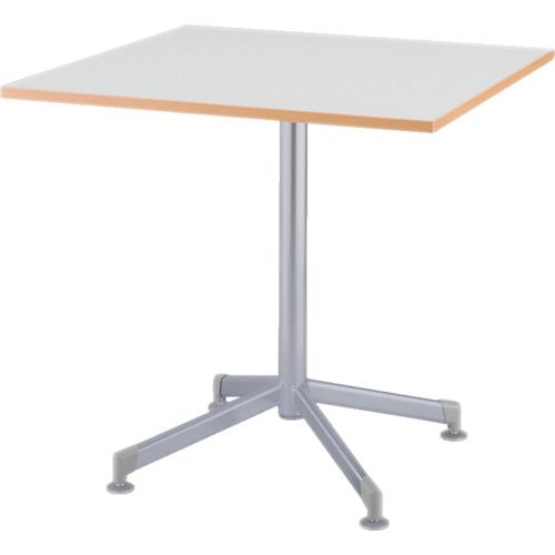 アイリスチトセ リフレッシュテーブル フーク 十字脚 750×750 ホワイト(CFKTT7575GW)