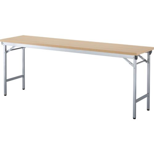 アイリスチトセ 折畳みテーブルOTN 棚無し1845サイズ ナチュラル(OTN1845NA)