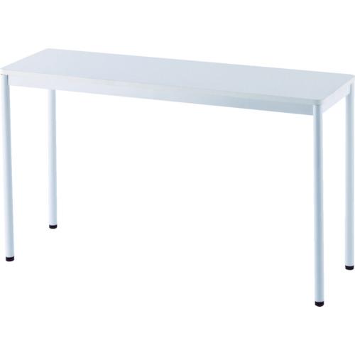 アールエフヤマカワ RFシンプルテーブル W1200×D400 ホワイト(RFSPT1240WH)