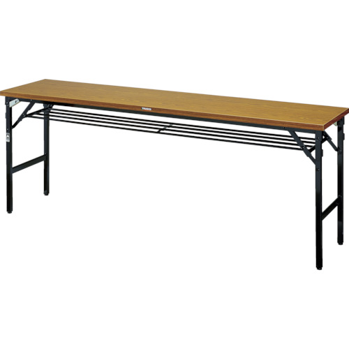TRUSCO 折畳会議テーブル ワイドクランク 1800X600 ストッパー付(TSMW1860)