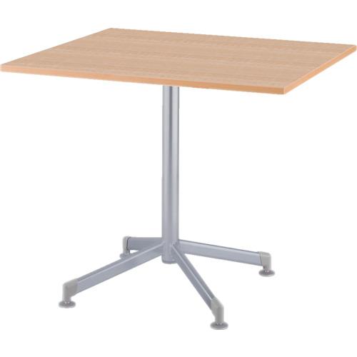 アイリスチトセ リフレッシュテーブル フーク 十字脚 600×750 ナチュラル(CFKTX6075GNA)