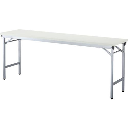 アイリスチトセ 折畳みテーブルOTN 棚無し1845サイズ ホワイト(OTN1845W)