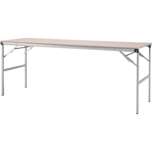 アイリスチトセ 折畳みテーブルLOT 棚無し1845サイズ ナチュラル(LOT1845NA)