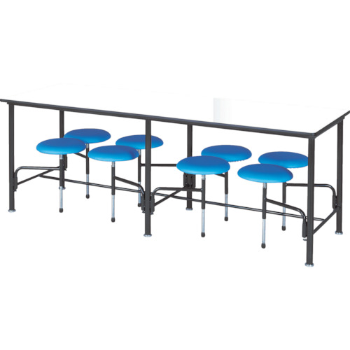ニシキ 食堂テーブル 8人掛 ブルー(STM2175B)