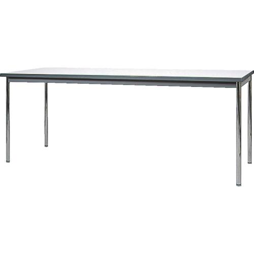 ヤマダ ウレタン一体成形エッジミーティングテーブル 1500X600(YUK1560)