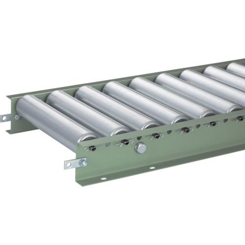 TRUSCO スチールローラーコンベヤ Φ57 W400XP75XL3000(VR5714400753000)