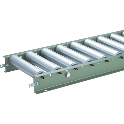 TRUSCO スチールローラーコンベヤ Φ57 W500XP100XL3000(VR57145001003000)