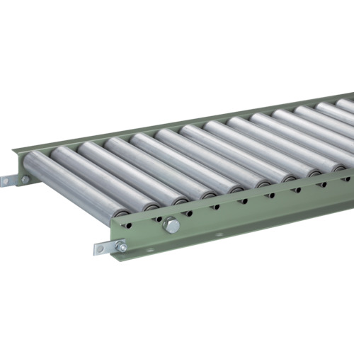 TRUSCO スチールローラーコンベヤ Φ38 W500XP50XL1500(VR3812500501500)