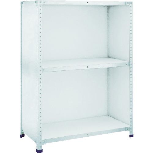 TRUSCO 軽量150型背側板付棚 W1500XD600XH1200 3段(TLA45L23)