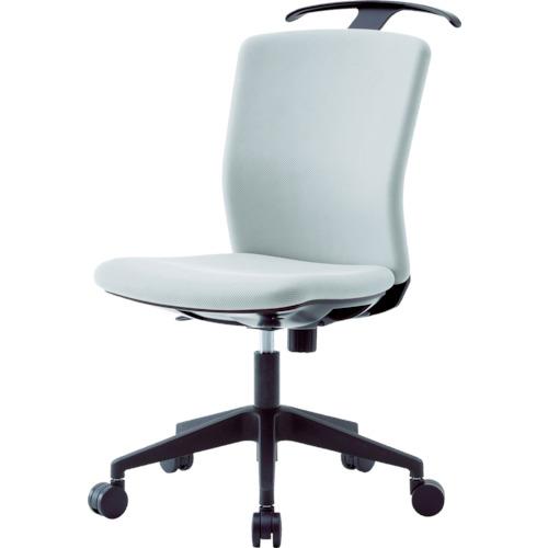 アイリスチトセ ハンガー付回転椅子(フリーロッキング) グレー(HGXCKR46M0FGY)