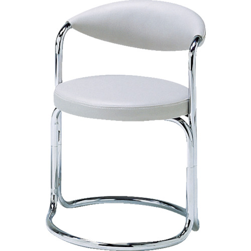ミズノ 簡易応接セット用椅子(アイボリー)(MK717)