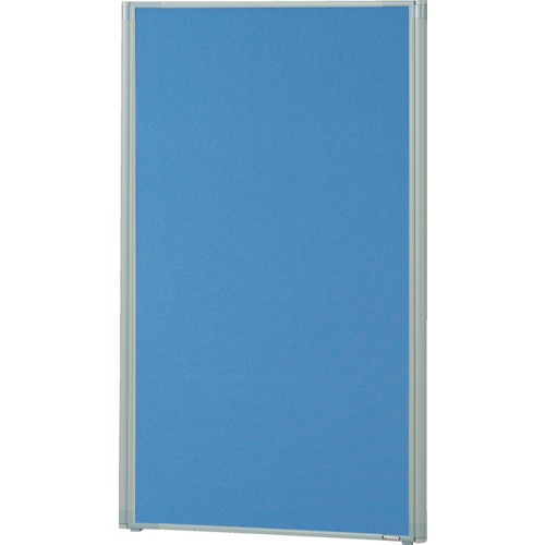 TRUSCO ローパーティション 全面布張り W600XH1165 ブルー(TLP1206AB)