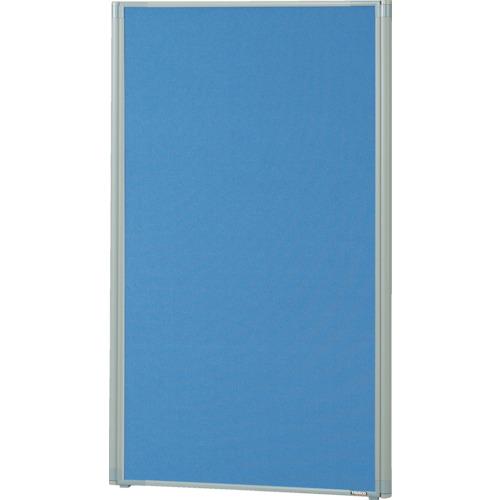 TRUSCO ローパーティション 全面布張り W700XH1165 ブルー(TLP1207AB)
